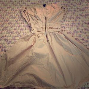 H&M light pink dress